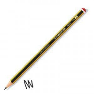 Staedtler 120 Noris Pencil Cedar Wood HB Red Cap Code 120-HB