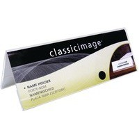 Deflecto Tent Sign Holder A4 Clear 48601