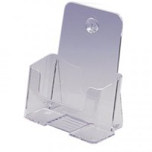 Literature Holder Standard Rigid A5 Clear