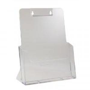 Literature Holder Standard Rigid A4 Clear