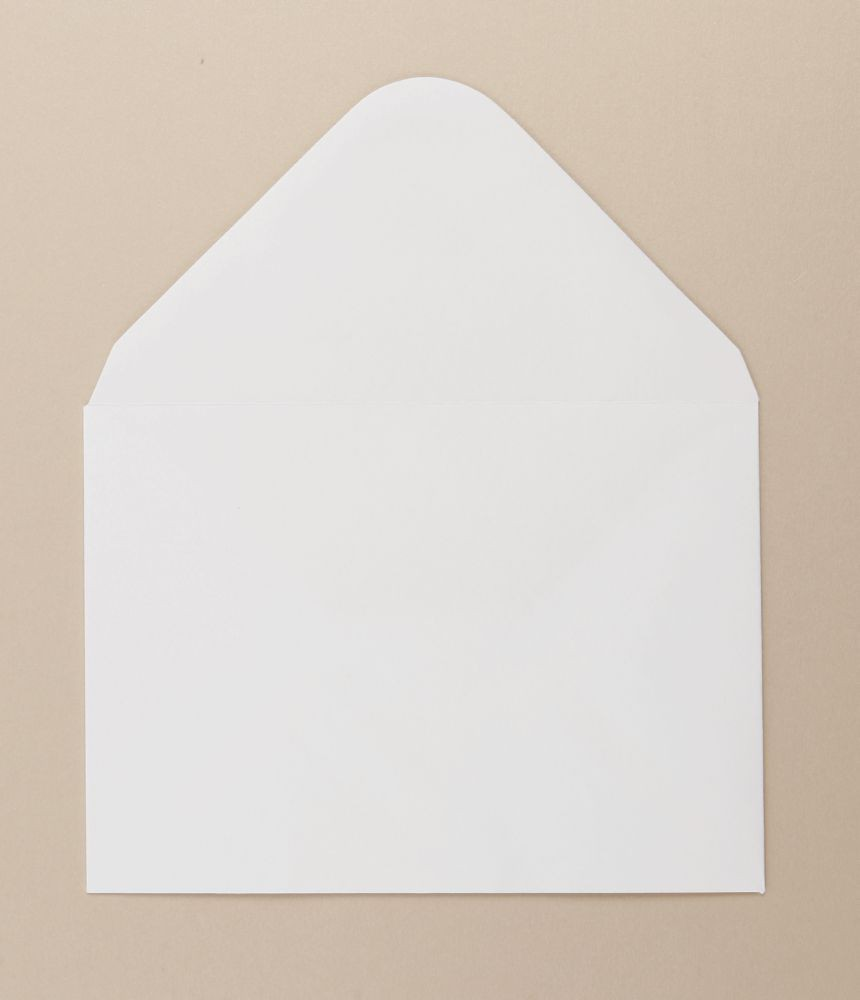 White Greetings Card Envelope 133x185mm 100gsm    Boxed 1000