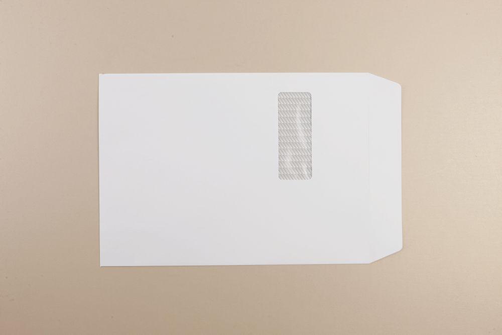 Communique Envelope White 120gm C4 324x229mm Superseal Wdw 213Up 24Lhs Boxed 250