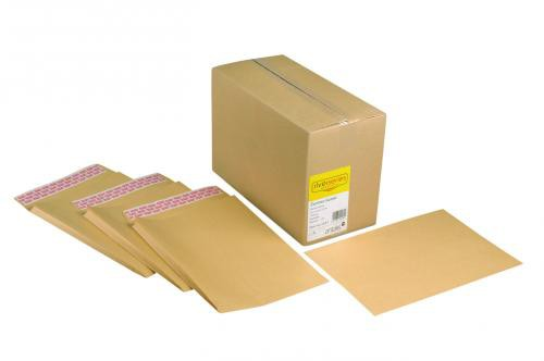 Zambesi Manilla Gusset Envelope 115gm 305x254x25mm Superseal Boxed 125