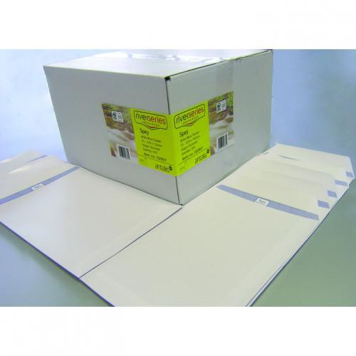 Spey Envelope White Wove 90gm C5 229x162mm Gummed Flapped Pack 500