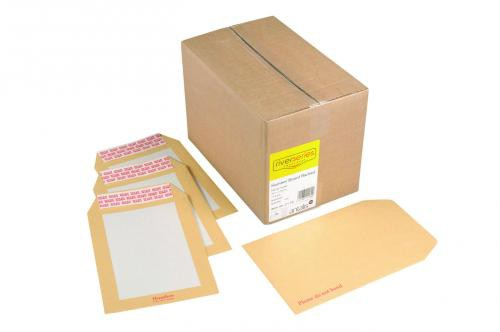 Humber Manilla Boardbacked Envelope 190x140mm Superseal Boxed 125