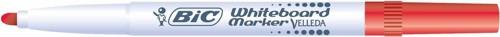 Bic Velleda 1741 Whiteboard Marker Bullet Tip Line Width 2mm Red Ref 1199174103 [Pack 12]