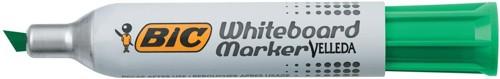 Bic 1781 Whiteboard Marker Chisel Tip Line Width 3.5-5.5mm Green Ref 1199178102 [Pack 12]