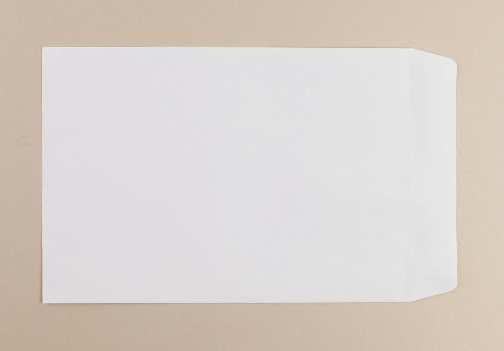 Spey Envelope White Wove 90gm 254x178mm Self Seal Pack 500