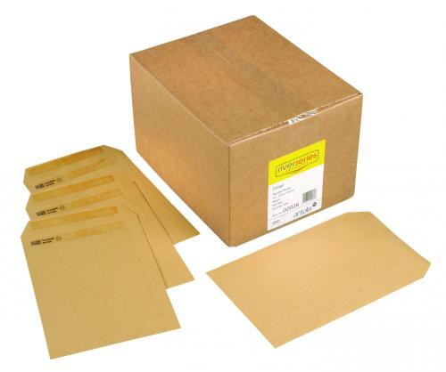 Congo Manilla Envelope 80gm C5 229x162mm Gummed Flapped Boxed 500