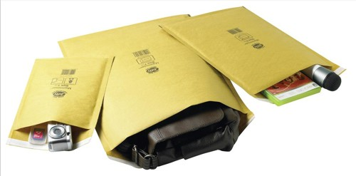 Jiffy Mailmiser Protective Envelopes Bubble-lined No.7 Gold 340x445mm Ref JMM-GO-7 [Pack 50]