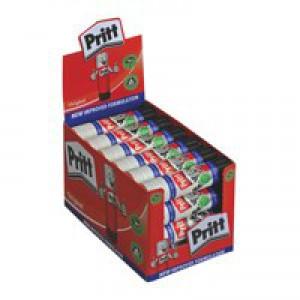 Pritt Stick Glue Solid Washable Non-Toxic Medium 20gm Code 45552002