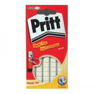 Pritt Sticky Tac Mastic Adhesive Non-Staining White Code 45912075
