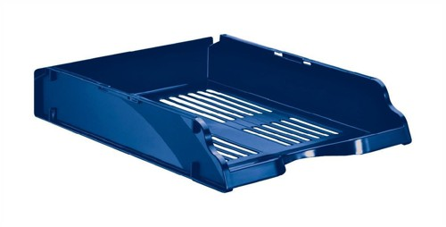 Esselte Transit Letter Tray W245xD330xH60mm Blue Ref 15652