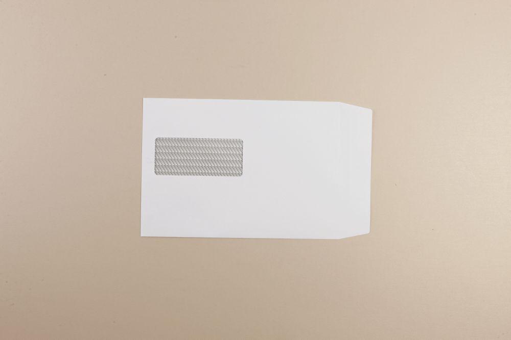 Communique White Envelope 100gm C5 229x162mm self seal Window  15Up 46Lhs Boxed 500