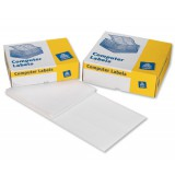 Avery Computer Labels Three Wide on Web 102x49mm Ref 6431/3 [10000 Labels]