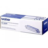 Brother Fax Ribbon Thermal Page Life 470pp Black Ref PC302RF [Pack 2]