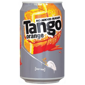 Britvic Tango Diet Soft Drink 330ml Can Pack 24