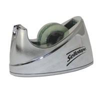 Henkel Sellotape Chrome Desk Tape Dispenser Small Code 504045