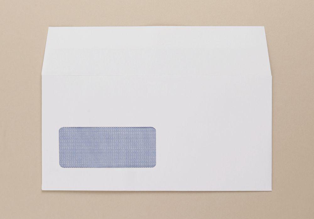 Thames Envelope DL White Window 100GM Boxed 1000  PEFC 100%