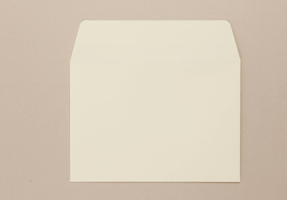 C6 114 x 162mm 100Gm2 Cream Greeting Card Envelope Boxed 500
