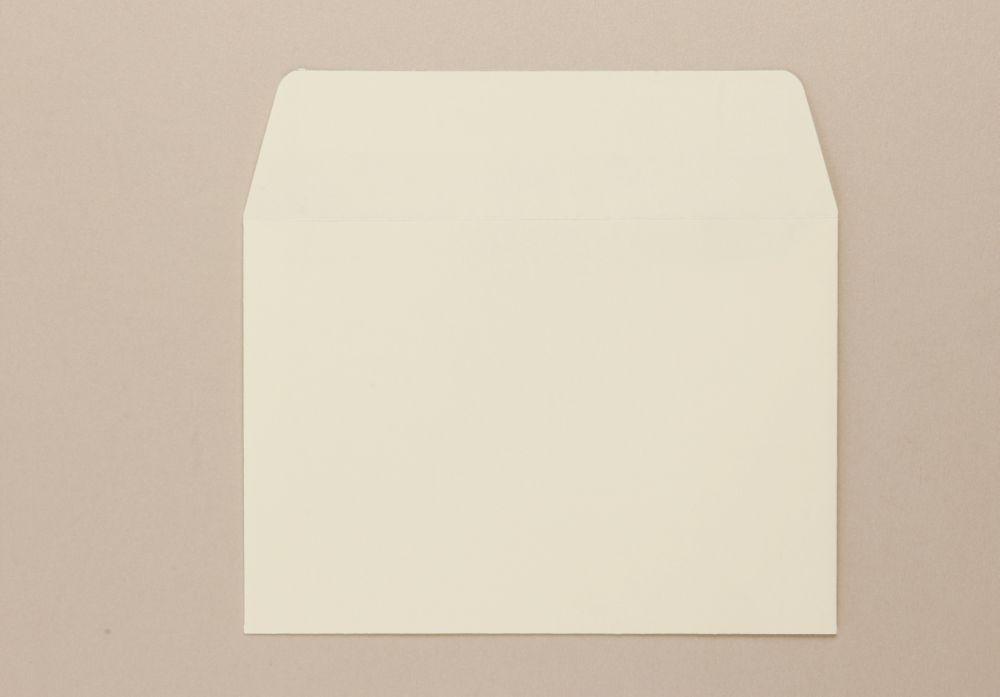 C6 114 x 162mm 100Gm2 Cream Greeting Card Envelope Boxed 500