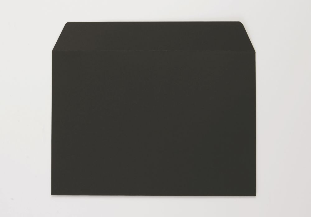 C5 162x229mm Greetings Card Envelope Black 120Gm2 Boxed 500