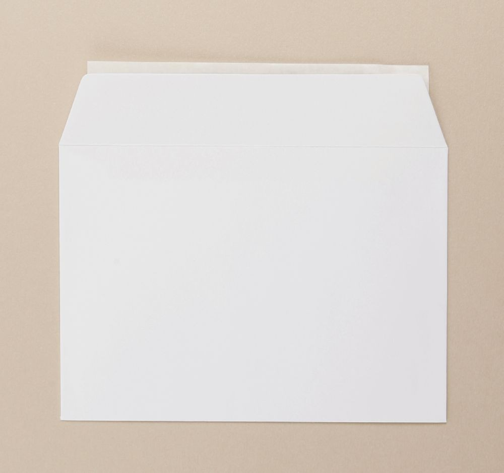 Greetings Card Envelope White C6 boxed 500 Peel   and Seal
