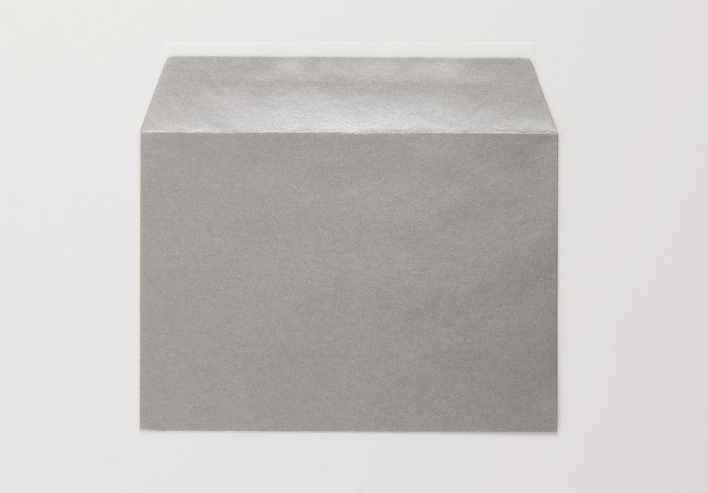 Greetings Card Envelope Silver Peel and Seal C6   boxed 500