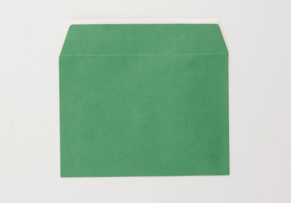 Greetings Card Envelope C6 Green Peel and Seal    boxed 500