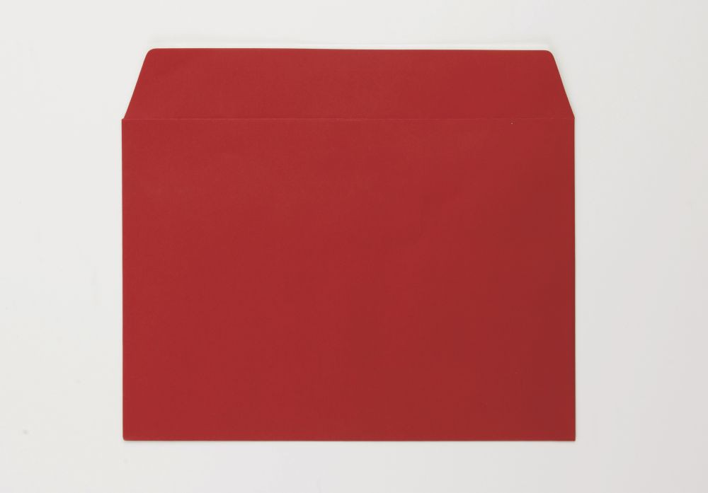 Greetings Card Envelope C5 Red Peel and Seal  boxed 500 90gsm