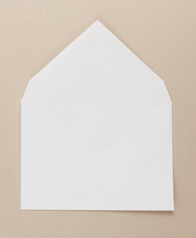 White Greetings Card FSC4 Envelope Gummed C6 114x162mm 100Gm2 Boxed 500