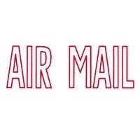 Artline X-Stamper Air Mail Red Ink X1001