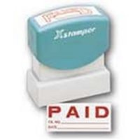 Artline X-Stamper Paid Blue Ink X1005