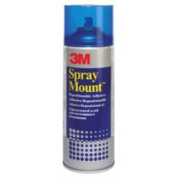 3M SprayMount Adhesive Spray Can CFC-Free Non-staining 400ml Ref SMOUNT