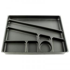 Durable Desk Drawer Organiser Black 1712004058