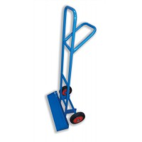 Image for 5 Star Facilities Carrying Trolley for Stacking Chairs with Steel Frame 2 Rubber Wheels