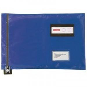 Versapak Flat Mailing Pouch 286x336mm Blue CVF1