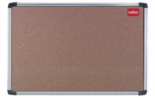 Nobo Euro Plus Noticeboard Cork with Fixings and Aluminium Trim W1226xH918mm Ref 30530321