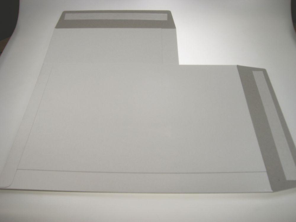 Trent White All Board Envelope C2 444x625mm Peel&Seal Flap Box 50