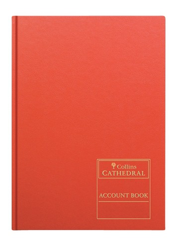 Collins D540 Account Book Double Entry Ledger Index Paged 192 Pages A4 Ref D540-2-7L