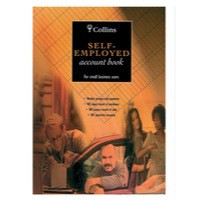Image for Collins 4161 Account Book Self Employed 144 Pages A4 Ref SE310