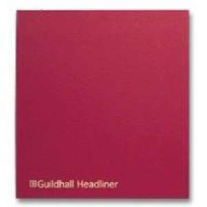 Guildhall 58/27 Headliner Book  1383