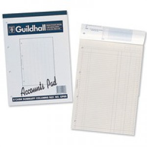 Guildhall Gp2 Accounts Pad  1587