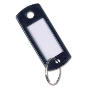 Key Hanger Standard with Fob Black [Pack 100]
