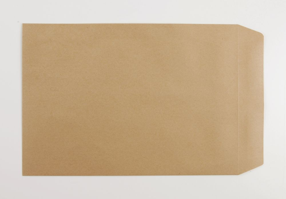 C4 Envelope Pocket Manilla 324X229MM 90gsm Self Seal Boxed 250
