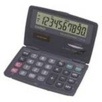 Casio Pocket Calculator 10-digit SL-210TE-W-GH