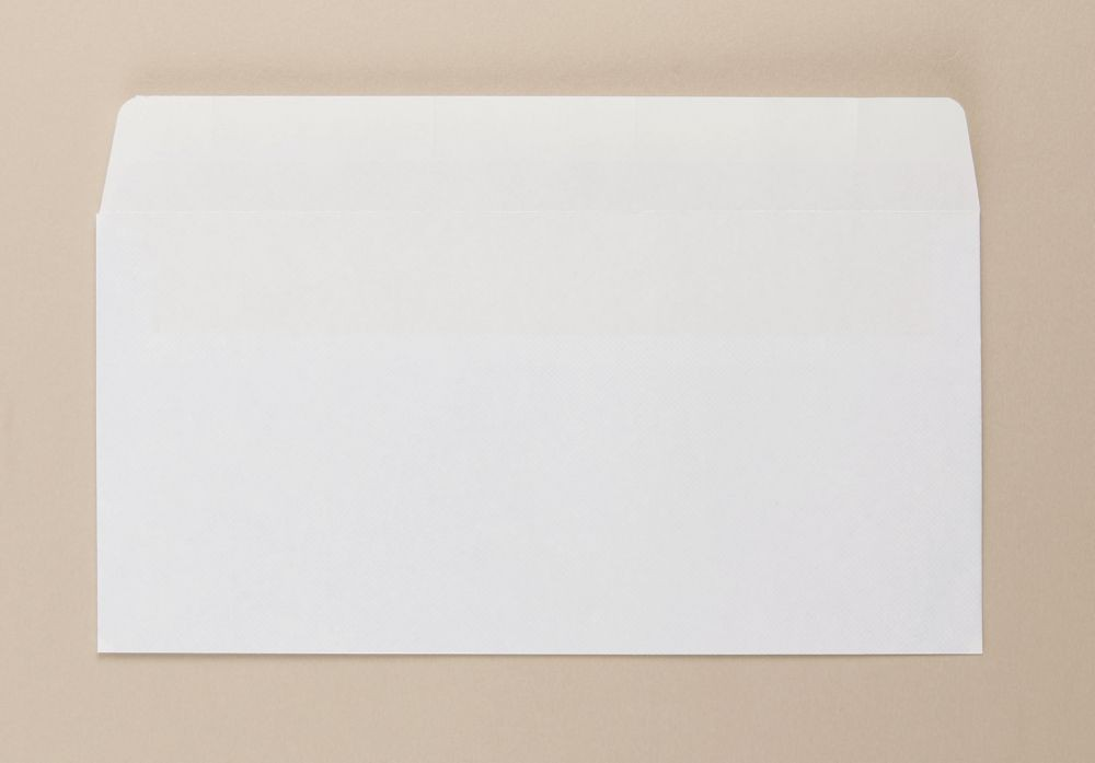 Opportunity White Self Seal Envelope DL 110mmx220mm light weight boxed 1000