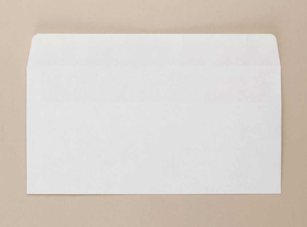Opportunity White Self Seal Envelope DL 110mmx220mm Medium Weight Boxed 1000s