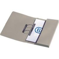 Elba Stratford Transfer Spring File Recycled Pocket 315gsm 32mm Foolscap Buff Ref 100090145 [Pack 25]