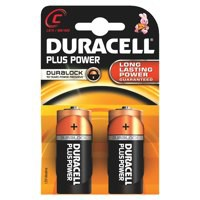 Duracell C Batteries Pack 2